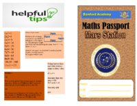 Mars Maths Passport