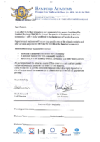 Business Club Letter