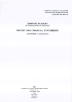 Report and Financial Statements 2012 – 2013