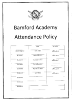 Attendance Policy April 2021